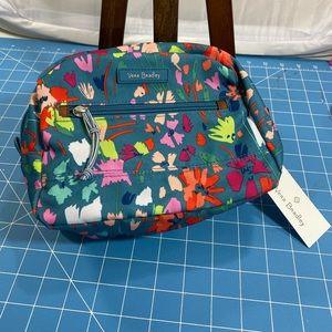 Vera Bradley Lighten up Medium Cosmetic Bag.